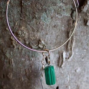 Malaquite Quartz Bracelet